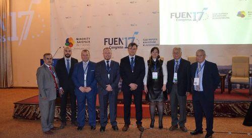 Batı Trakya Türkleri FUEN 2017 Kongresi'ne katıldı