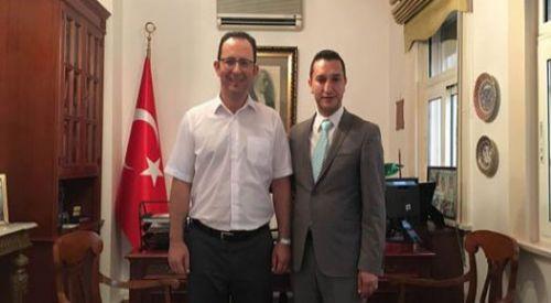 Önder Mümin T.C. Selanik Başkonsolosunu ziyaret etti