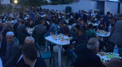 Mehrikoz köyünde iftar geleneği devam etti