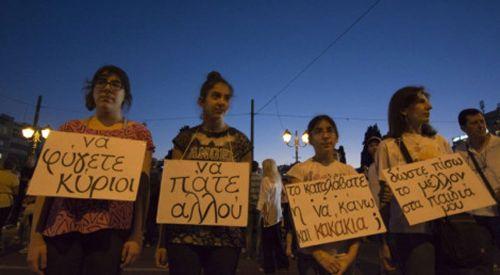 Yunan halkı isyan etti! Binlerce kişi Çipras'a karşı ayaklandı