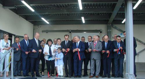 YAKA IKE'nin açılışını Türkiye Ulaştırma Bakanı Arslan yaptı