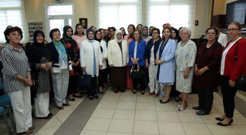 Semiha Yıldırım Gümülcine Türk Gençler Birliği'nde soydaş bayanlarla buluştu