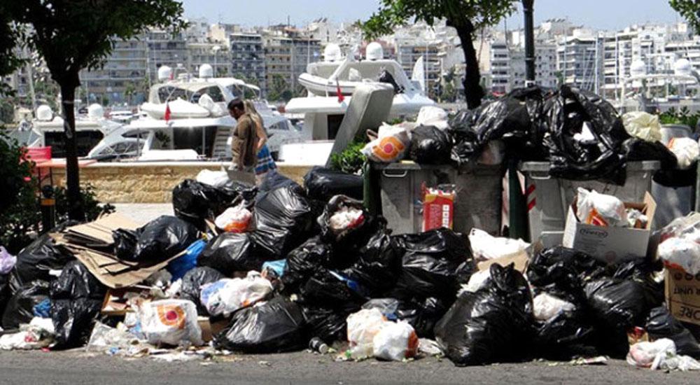 Yunanistan, çöplüğe döndü