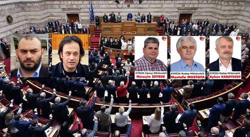 SİRİZA milletvekillerinden Batı Trakya Türklerini düşündüren açıklama