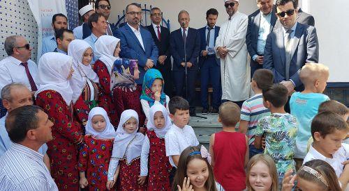 Foto Haber | T.C. Atina  Büyükelçisi Halit Çevik'in İskeçe temasları