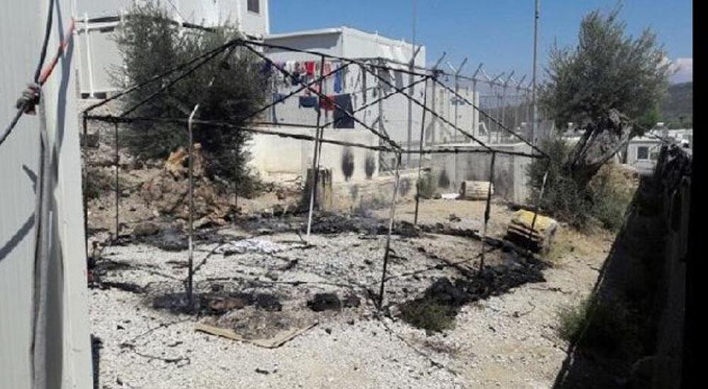 Moria Kampında sığınmacılar yine ayaklandı