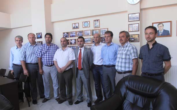 Başkosolos Osman İlhan Şener DEB Partisi'ni Ziyaret Etti