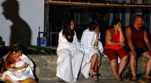 Ölü ve yaralıların olduğu Kos'ta deprem sonrası yaşananlar