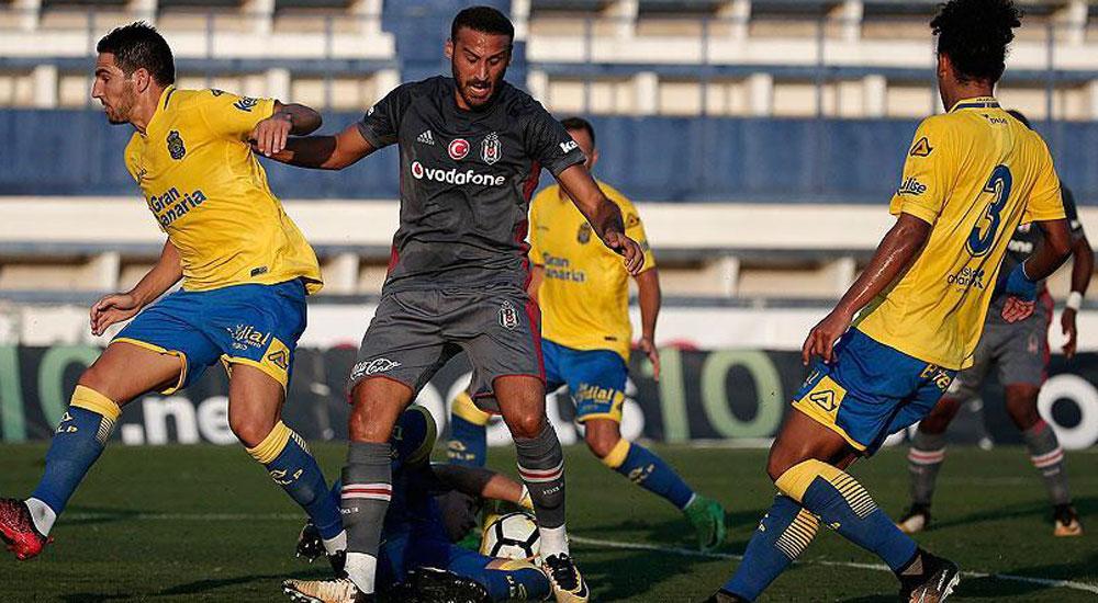 Beşiktaş, Las Palmas'a 4-1 yenildi