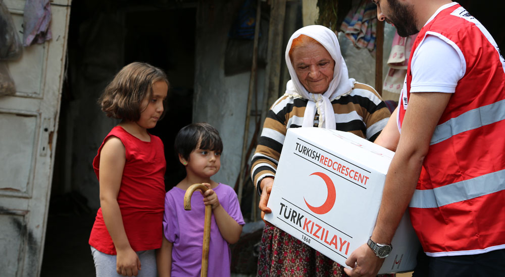 Mazlumların umudu Türkiye dünyanın en cömert ülkesi oldu
