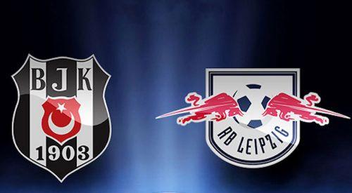 Beşiktaş Leipzig'i perişan etti: 2-0