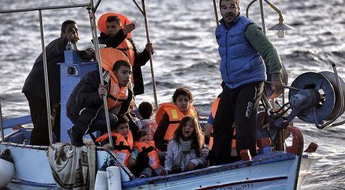 Yunanistan'a sığınmacı geçişi en yüksek seviyesinde