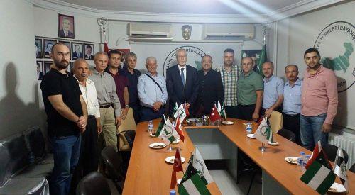 BTTADK Başkanı Müftü İbrahim Şerif BTTDD Bursa Şubesini Ziyaret Etti