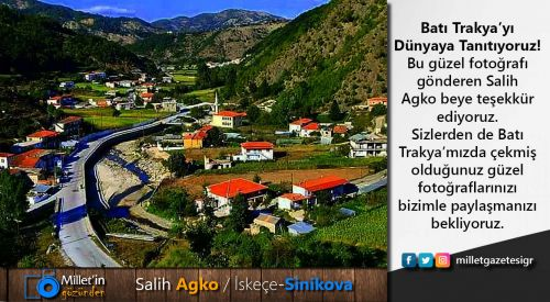 Milletin Gözünden | Salih Agko / İskeçe-Sinikova