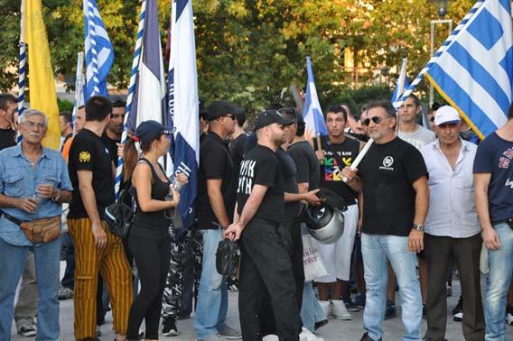 Altın Şafak'tan Gümülcine Türk Gençler Birliği önünde nahoş gösteri