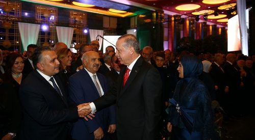 29 Ekim Resepsiyonunda Türkiye'deki Batı Trakya camiası da temsil edildi