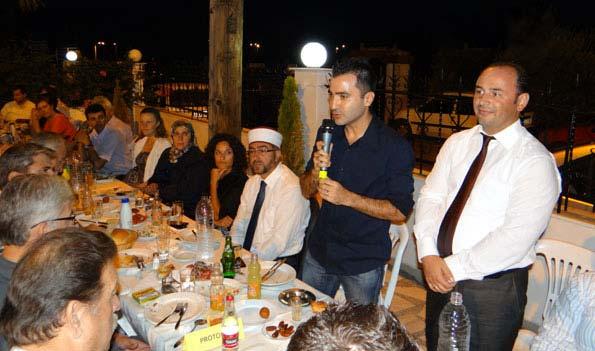 İskeçe Türk Birliği'nin İftar Yemeği Gerçekleştirildi