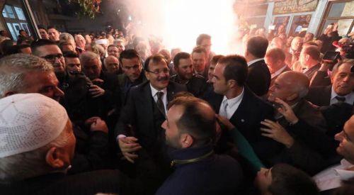T.C. Başbakan Yardımcısı Çavuşoğlu memleketi Batı Trakya'da hasret giderdi