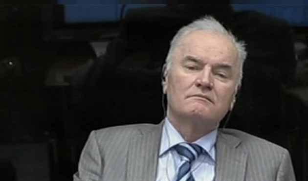 """""""Bosna Kasabı"""" Mladic'in karar duruşmasından önce gerginlik"""