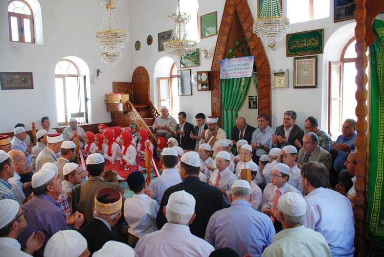 İskeçe'nin Kozluca köyünde Hatim Töreni düzenlendi
