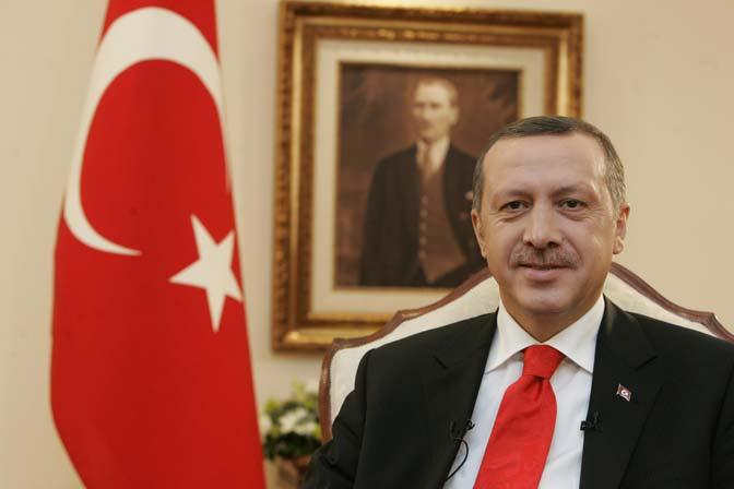 T.C. Başbakanı Recep Tayyip Erdoğan'dan DEB Partisine Kutlama Mesajı