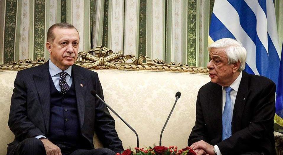 """Pavlopulos-Erdoğan görüşmesinde """"Lozan"""" ve """"Türk Azınlık"""" restleşmesi"""
