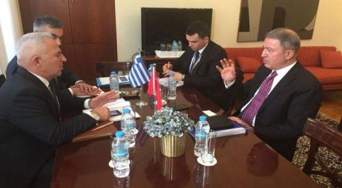 Türk ve Yunan Genelkurmay Başkanları bir araya geldi