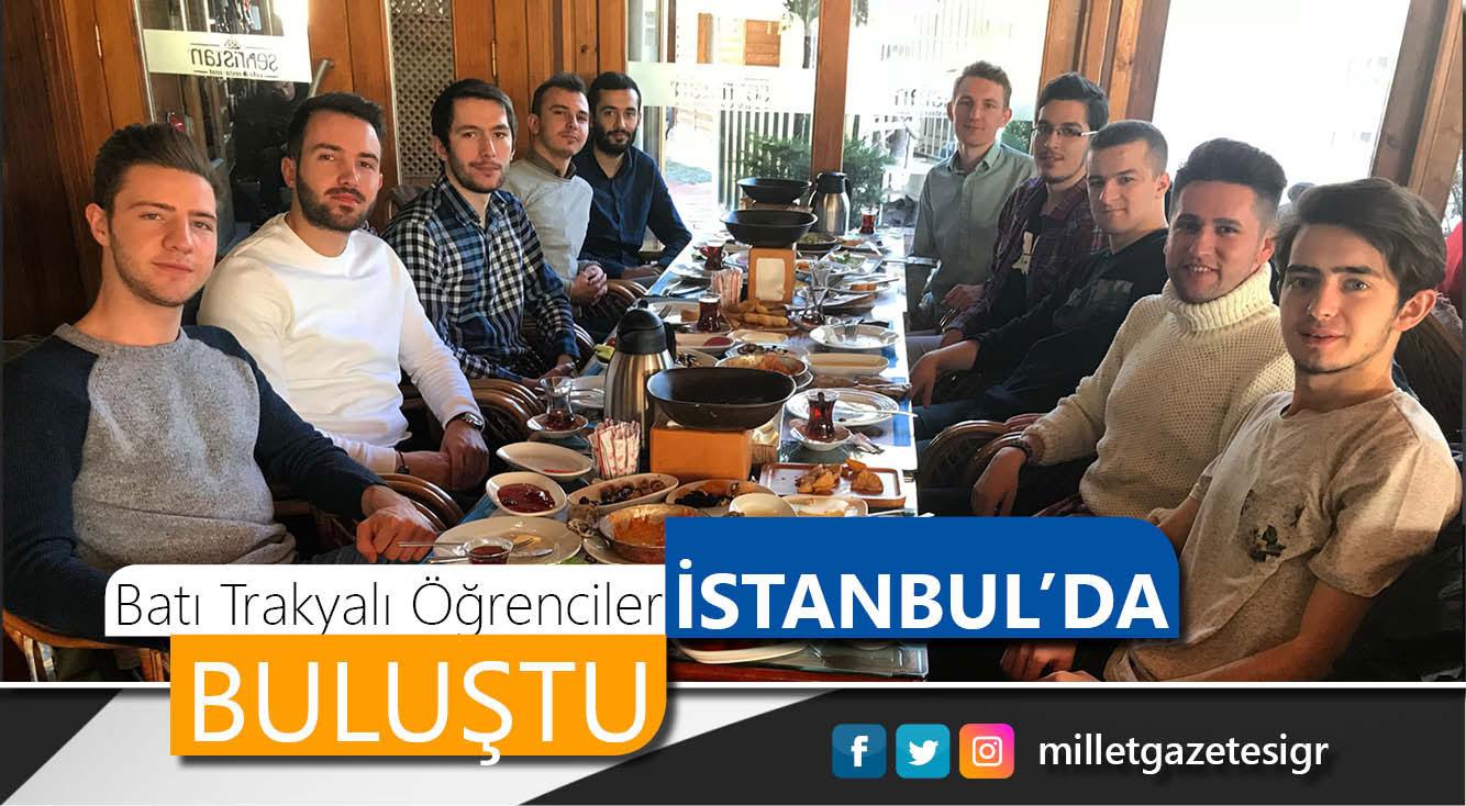 Batı Trakyalı öğrenciler İstanbul'da buluştu