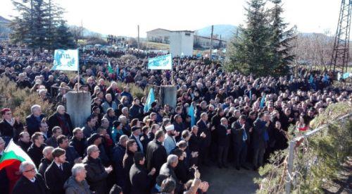 Bulgaristan Türkleri, şehitlerini andı