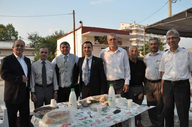 Müftü Yardımcısı Fehim Ahmet'in mutlu günü