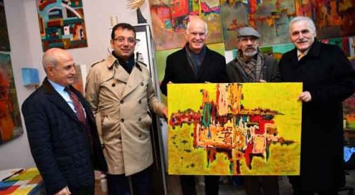 Papandreu'ya CHP'den plaket