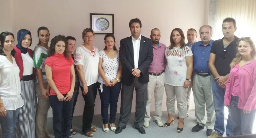 Kırköy Eğitim Kültür ve Spor Derneği Kadınlar Kolu'ndan DEB Partisi İskeçe İl Teşkilatı'na Ziyaret