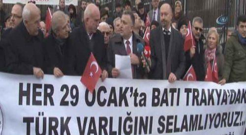 Batı Trakya Türkleri Çipras'a seslendi