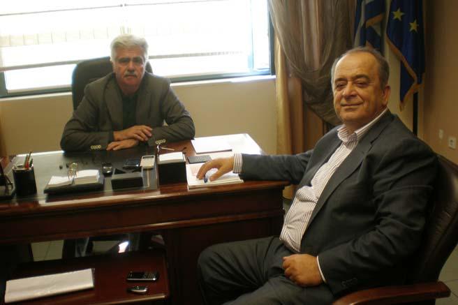 Milletvekili Ahmet Hacıosman Genel Sekreter Karuncos'u ziyaret etti