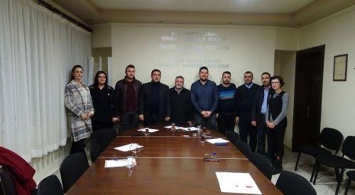 BTAYTD'de bir dönem daha Ercan Ahmet ile yola devam