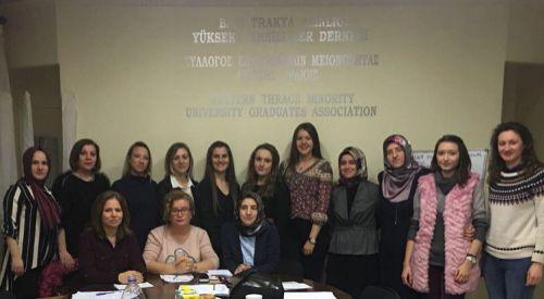 BTAYTD Kadınlar Kolu seçimleri gerçekleştirildi