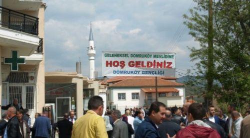 Geleneksel Domruköy Mevlidi 18 Mart Pazar günü