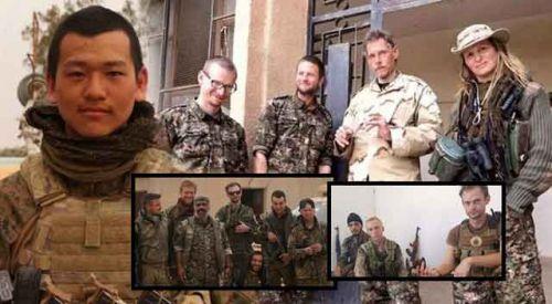YPG saflarındaki yabancı teröristler