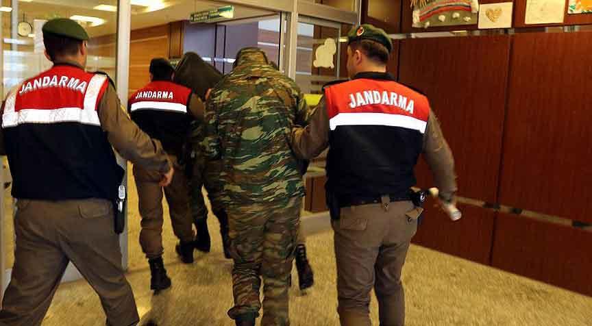 Yunan askerlerinin tutukluluk hali devam edecek