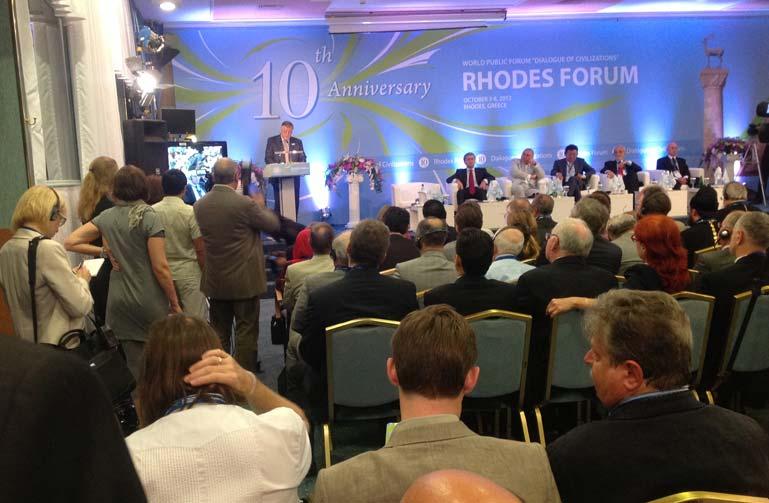İlim adamları, 10. Medeniyetler Diyaloğu için Rodos'ta buluştu