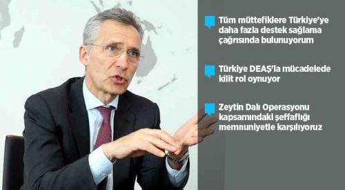 NATO'dan Türkiye'ye daha fazla destek çağrısı